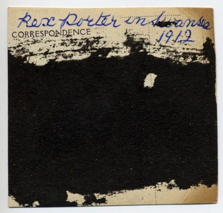 Rex Porter WW1 a