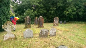 Lamorran Church Cemetery, Lamorran, Cornwall - taken August 2014