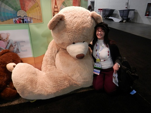 I so wanted to bring this teddy home