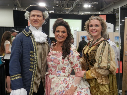 ye olde vintage costumes at RootsTech 2015