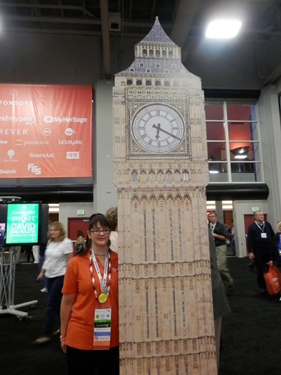 Big Ben even made an appearance at RootsTech