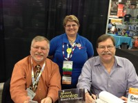 31 The Genealogy Guys Drew Smith and George Morgan with Helen Smith