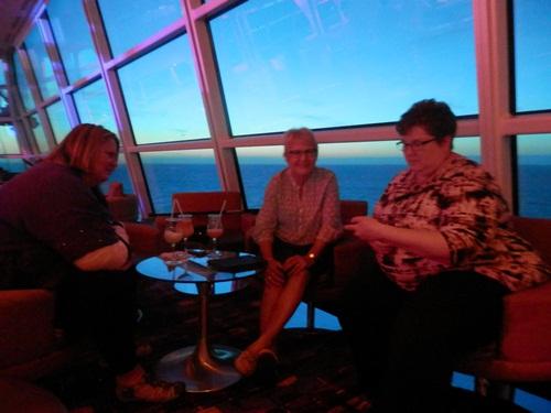 Shauna Hicks, Anne Mobbs and Cyndi Ingle