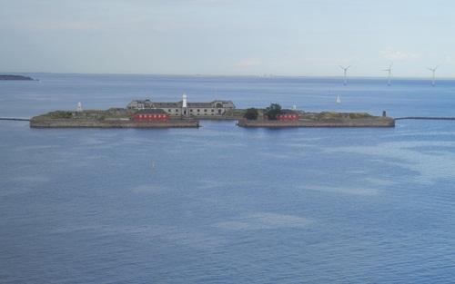 part of the Middelgrundsfortet (middle ground fort) at Copenhagen