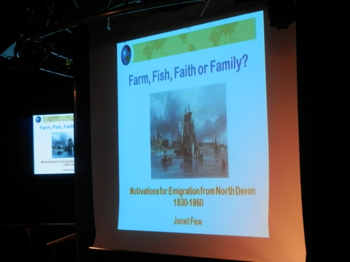 Farm, fish, faith or family - all of these were reasons for emigration from North Devon during the 1830-1900 period