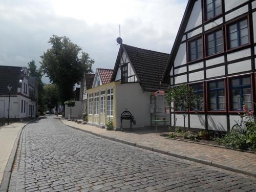 a street in Warnemünde, Germany