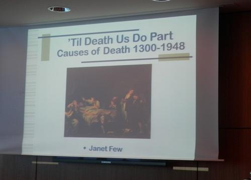 Janet Few's 'Til death us do part