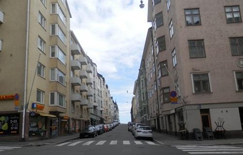 walking the streets of Helsinki