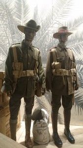the Anzac troops