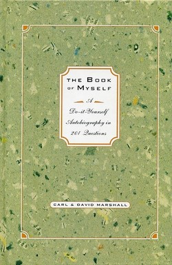 The book of myself a do it yourself autobiography