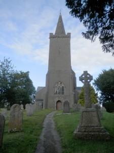 parish church at Rattery, Devon, taken August 2014