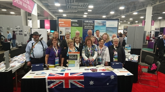 the Australians at RootsTech 2017