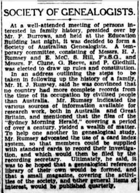 the Sydney Morning Herald, 30 August 1932, p. 8 http://nla.gov.au/nla.news-article16915901