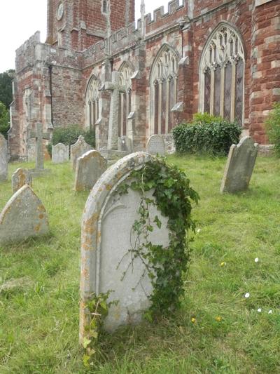 Kenton All Saint's churchyard, Devon