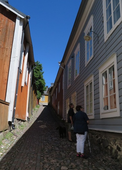 houses at Porvoo