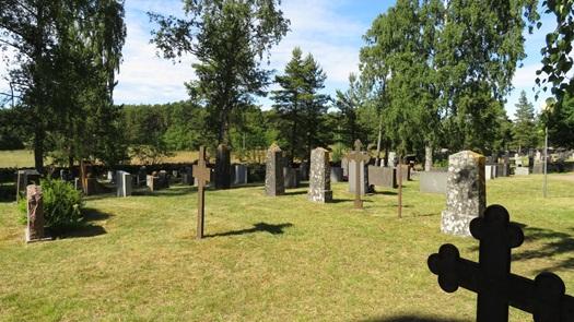 Hiittinen church and cemetery