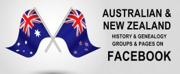 Facebook for Australian & New Zealand History and Genealogy