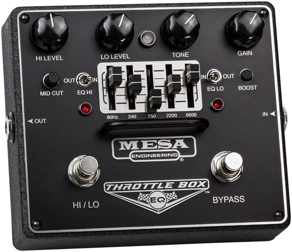 Mesa Boogie Throttle Box Dual Mode 5 Band Graphic Eq Pedal