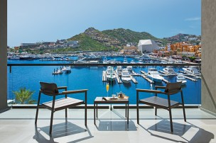 Breathless Cabo San Lucas Resort & Spa - Breathtaking Marina View from Allure Suite terrace