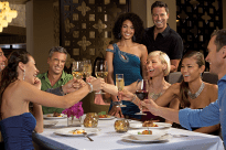 Breathless Punta Cana Resort & Spa - Restaurants & Bars - Toast with friends old and new at Coquette
