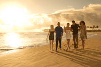 Breathless Punta Cana Resort & Spa - Grounds - Stroll on the beach with friends