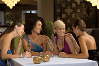 Breathless Punta Cana Resort & Spa - Restaurants & Bars - Dine with your friends at Coquette