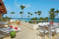 Breathless Punta Cana Resort & Spa - Accommodations - The xhale club Presidential Suite's terrace