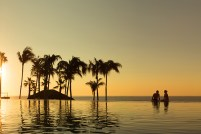 Dreams Los Cabos Suites Golf Resort & Spa - Activities - Infinity pool at sunset