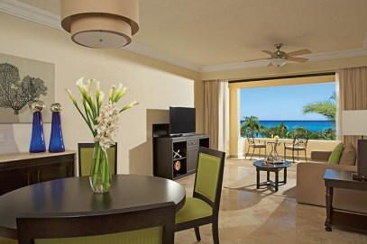 Dreams Los Cabos Suites Golf Resort & Spa - Accommodations - Luxury One Bedroom Suite living area