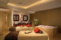 Dreams Palm Beach Punta Cana - Activities - Romantic couples massage cabin with hydrotherapy tub and private shower