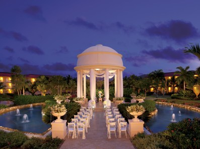 Dreams Punta Cana Resort & Spa - Weddings - Gazebo at Night