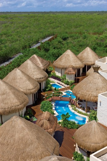 Dreams Riviera Cancun Resort & Spa - Activities - Spa Aerial