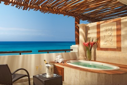 Now Sapphire Riviera Cancun - Accommodations - Outdoor Jacuzzi