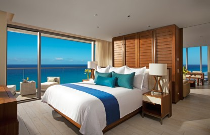 Secrets The Vine Cancun - Accommodations - Master Suite Bedroom