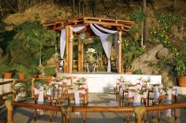 Dreams Huatulco Resort & Spa - Weddings - The elegant wedding gazebo at Dreams Huatulco features stunning ocean views and lush tropical gardens