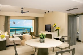 Secrets Silversands Riviera Cancun - Accommodations - Standard Suite Bedroom