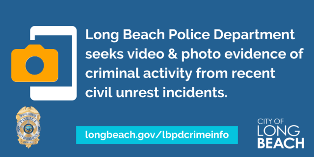 LBPD graphic with website link longbeach.gov/lbpdcrimeinfo