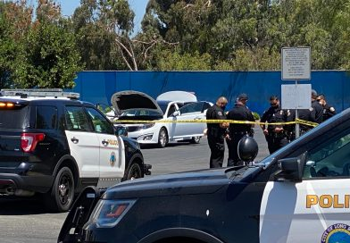 Man hit during car-to-car shooting in Long Beach