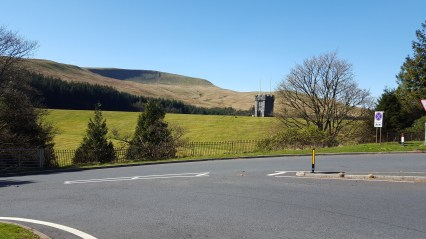 Beautiful view just south of Beacons Reservoir