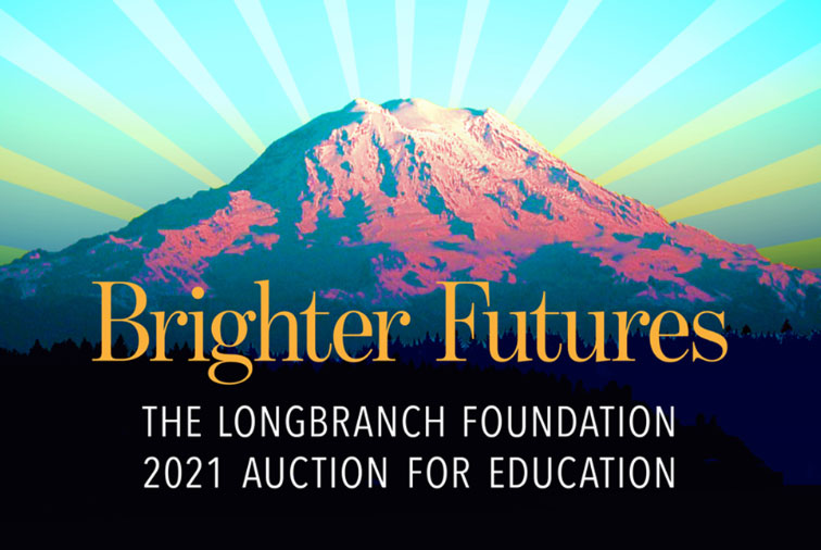 Brighter Futures Longbranch Foundation 2021 Auction flyer