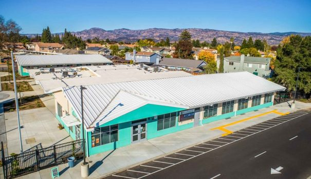 El Centro Elementary aerial shot