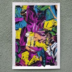 Jungle - screen printed poster by Mileta Mijatović