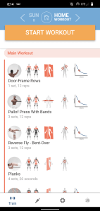 BodBot best free fitness app screenshot