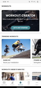 Top free strength training app adidas Training by Runtastic