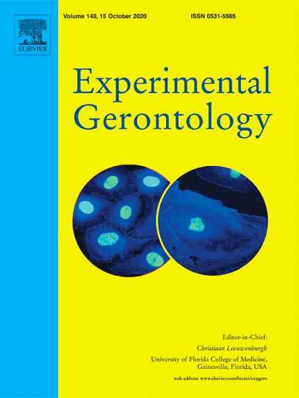 anti-aging research journal experimental gerontology