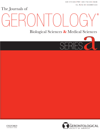 aging science journal The Journals of Gerontology: Series A, Biological Sciences and Medical Sciences