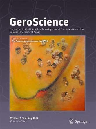 anti-aging research journal geroscience
