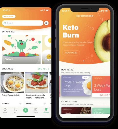 diet app lifesum screenshot