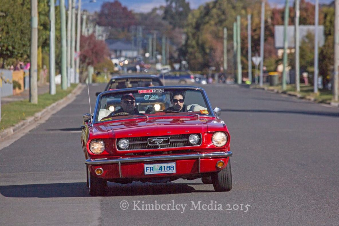Targa Tasmania passed through Longford on day 3 of the internationally renowned motorsport event.