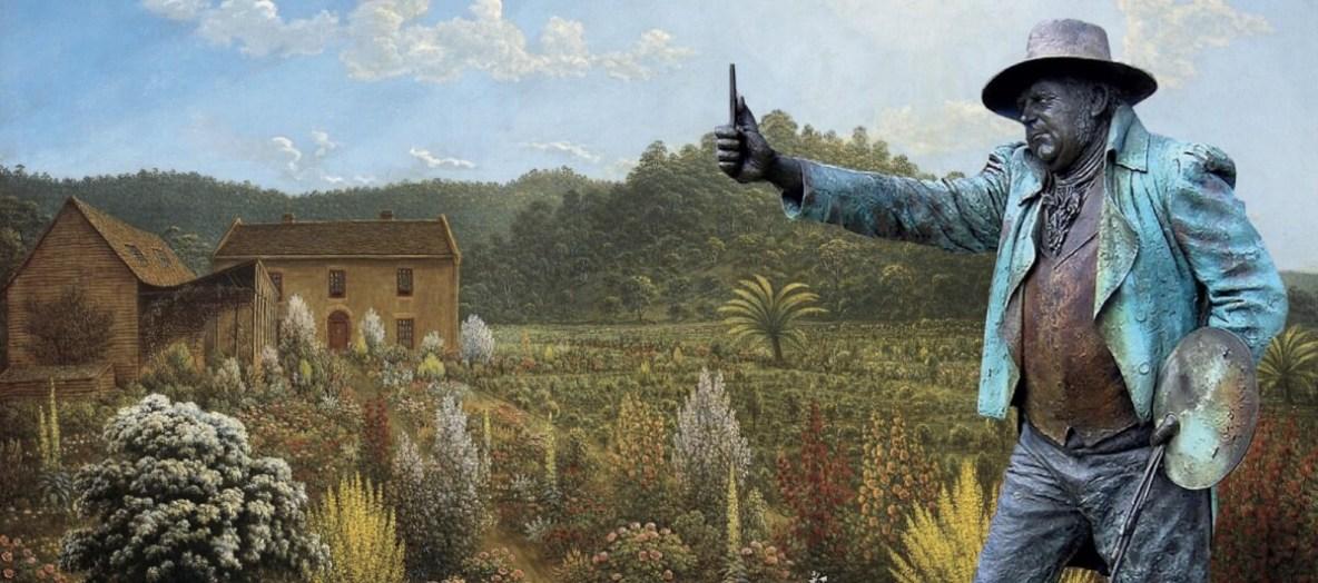 Glover Prize for landscape art, Evandale, Tasmania